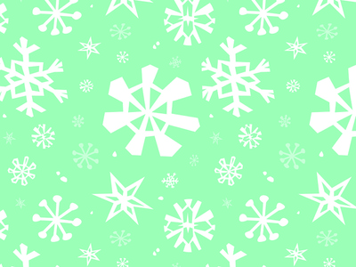 Snowflake seamless pattern snowfall chilly paper cut style ice blue cold weather snowy season winter snowflake design pattern vector lizzelizzel illustration