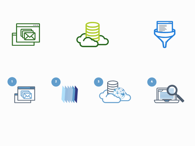 Icons for the HSC Brasil Website web filter spam security software icon
