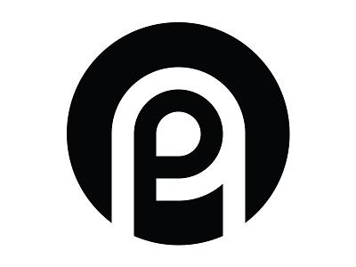Insignia Concept #2 round timeless simple black and white insignia mockup concept design brand logo