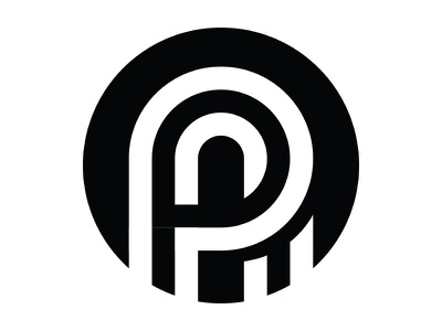Insignia Concept #4 exploration round timeless simple black and white insignia mockup concept design brand logo