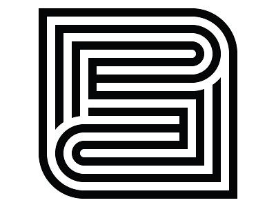 Insignia Concept 12 design name timeless logomark initials brand concept simple black and white logo insignia