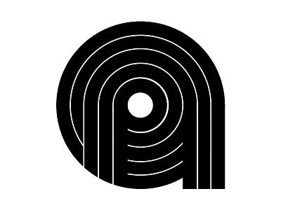 Insignia Concept 16 lines logomark design simple timeless concept exploration black and white insignia logotype logo