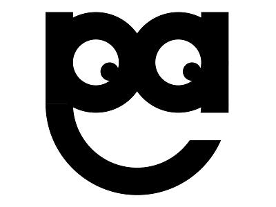 Insignia Concept 17 face fun simple logomark logo initials exploration black and white concept insignia