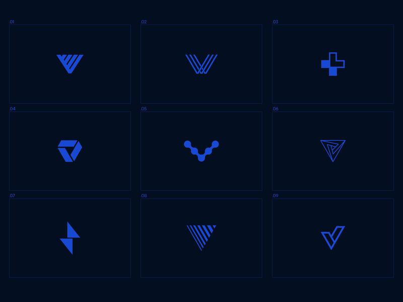Voltek Icons technology information it tech logo icon symbol logo design v letter branding design brand design brand icon logo