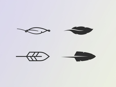 Feather Icon explorations