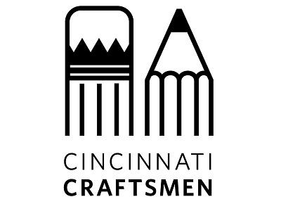 Cincinnati Craftsman Logo art design logo cinch. cincinnati craftsman pencil