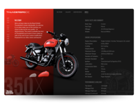 Landing Page for RE-TB350X