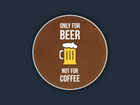 Coaster Design for Sticker Mule Giveaway!