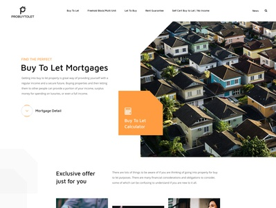 Mortgages or Loan web page