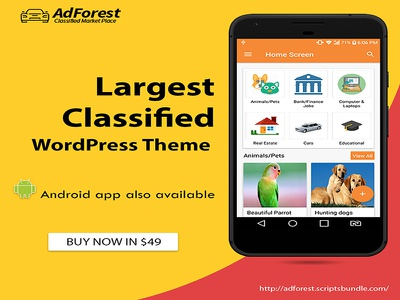 Adforest Classified Ads Mobile App mobile classifieds app classified ad posting app classified ads app best classified apps