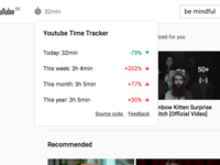 YouTube™ Time Tracker