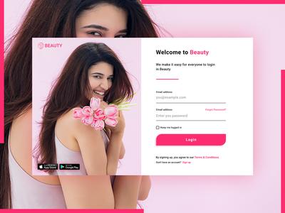Web Login page