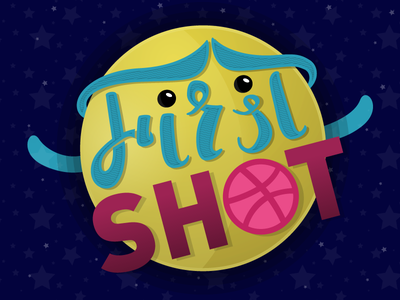 Pavel Isp - First Shot stars cute planet shot lettering debut