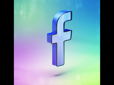 >LIKE< 3dart simply simulation animation fb render motion minimal clean like logo graphic design motion graphics c4d 3d colorful