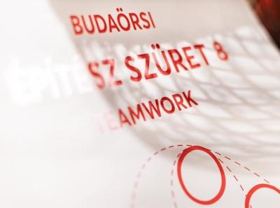 Teamwork • Budaörs Architect's Harvest 8 graphic design print event flyer architecture photo