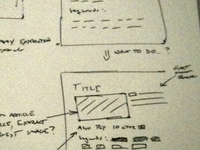 Web Trend Interface Planning