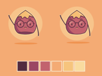 Chestnut Character Logo