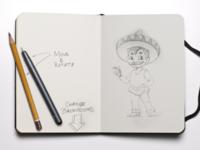 Taco guy sketch