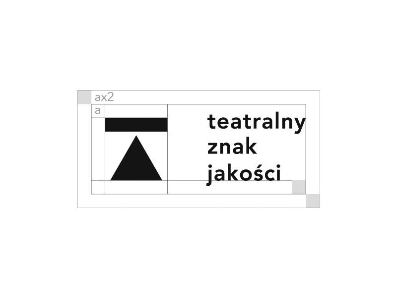 Theater Quality Label dribbble poland city typo logo brand agency mood poznan label quality theater