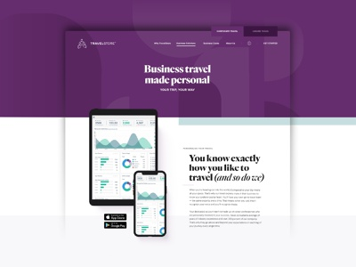 Business Travel custom cruises travel experts motion graphics web development iconography ux design enterprise vacation case study bold corporate business travel travel solutions branding travel web design agency digital agency web design animation