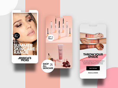 Honest Company E-Commerce Store store shopping consumer skincare cosmetics user experience cart branding motion graphics ui illustration web design agency iconography animation web design ecommerce design ecommerce interactive design bold digital agency