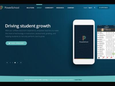 PowerSchool Interactive Website