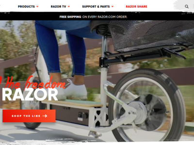 Razor USA - eCommerce shopping made fun!