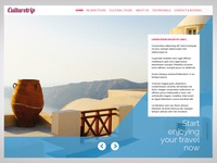 Travel agency onepage site