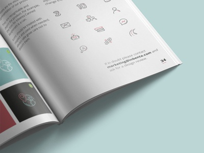 Brand Guidelines -  Inside documentation user guidelines manual brand
