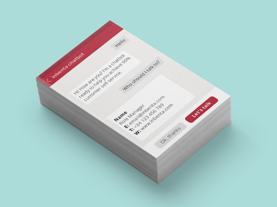 Business Card material brand print paper introduce card business card
