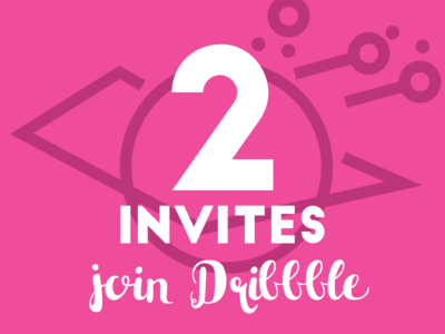 Join Dribbble draft player invite ticket join invitation