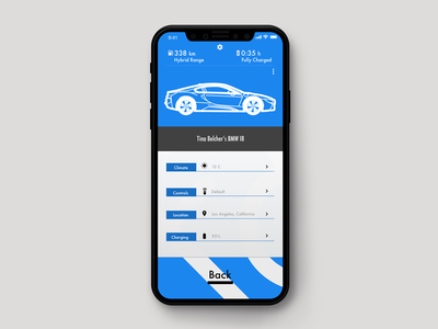 BMW Mobile App Concept trend luxury branding app mobile ios responsive ux ui design