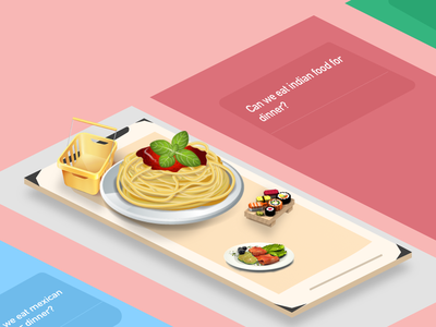 AR Grocery Shopping App - Graphic google clean landing playful page interface ios designer creative branding mobile design ux ui
