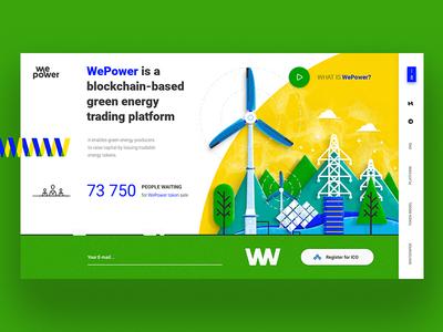 WePower - green energy trading platform