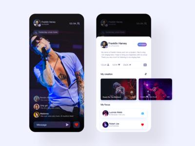Music live app