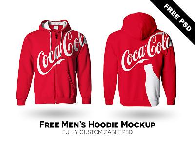 Men's Hoodie Mockup Free PSD free psd mockup hoodie