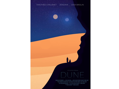 DUNE Animated Movie Poster