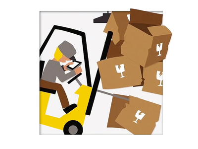 Supply Chain Happens: Forklift