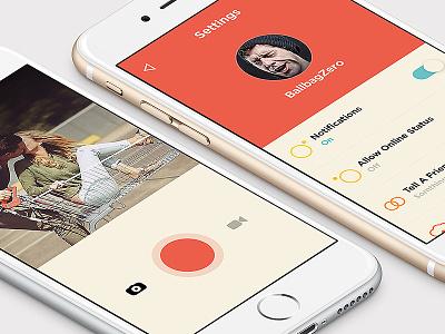 Newproject ux mobile flat ui social flatdesign