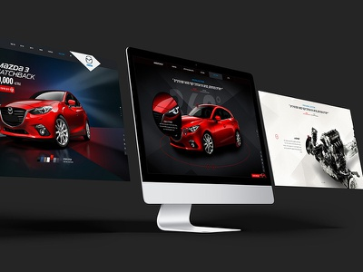 Mazda Product page product page car website mazda car