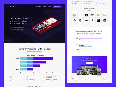 Transmit.Live - Why Transmit? webflow technology ui website website design web design