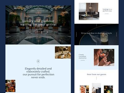 Josefin Hotel - Boutique Hotel Website Template website templates website template webflow template webflow website website design boutique hotel hotel branding web design luxury hotel luxury design hotel website