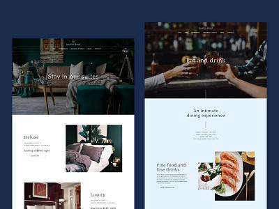 Josefin Hotel - Boutique Hotel Website Template luxury website luxury design web design webflow website templates website template hotel website hotel branding website design website