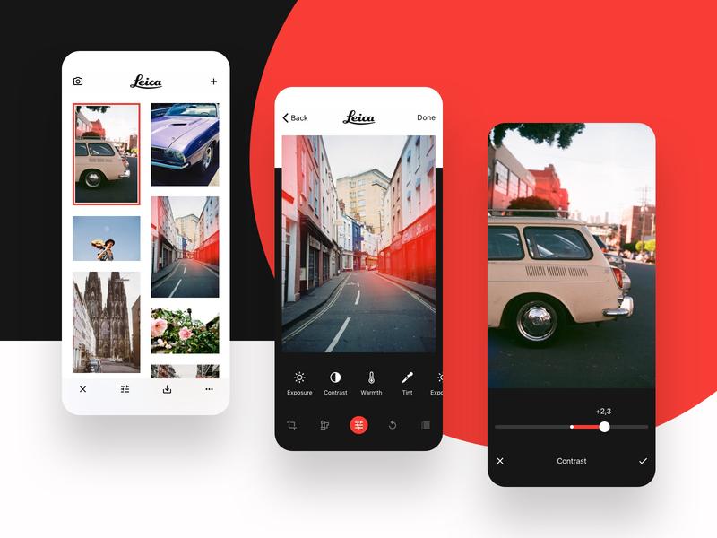 Leica + VSCO app