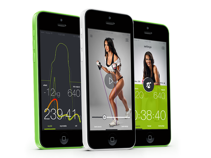 tech4fit app app application apps ios ios 7 iphone fit