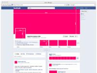 Facebook new fanpage gui free psd 1