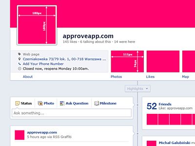 Free PSD New Fanpage Facebook GUI gui psd fanpage facebook