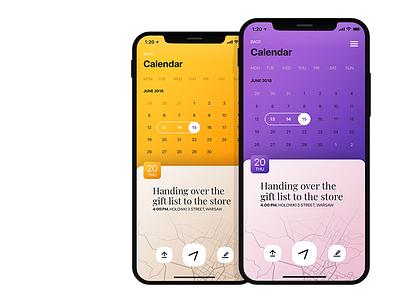 MyWedding iOS app wedding app wedding calendar uxdesign uxd ux ui responsive mobile apps design iphone application ios app