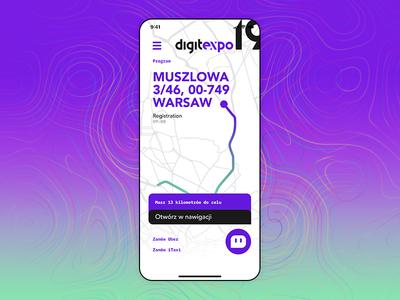 DigitExpo app map