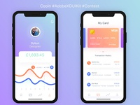 Cooin Digital Currency UI